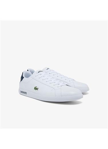 Lacoste Lacoste Graduate Bl21 1 Sma Erkek Beyaz Sneaker Beyaz